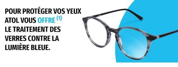Essayez les lunettes contre la lumière bleue conçues par ATOL les opticiens  ! c942a7fca3b4