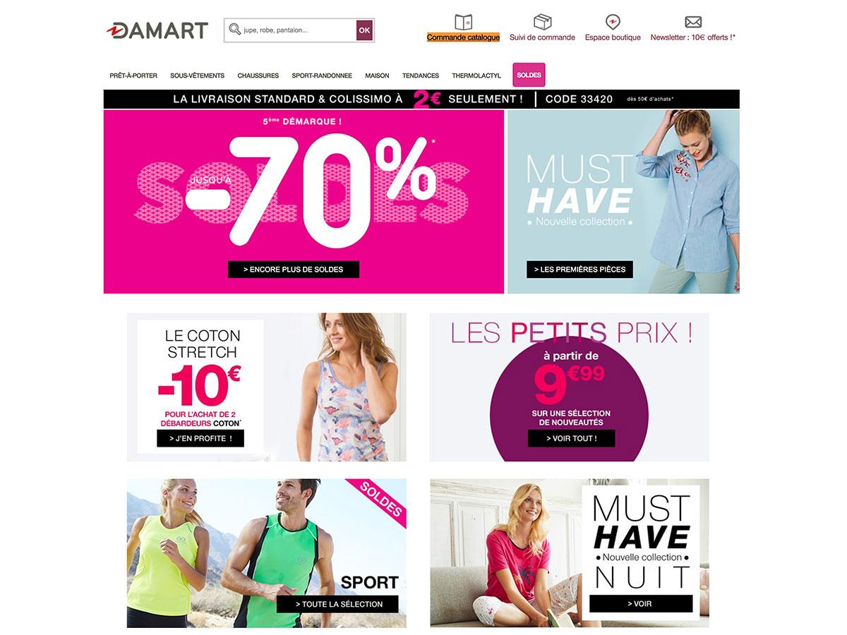 great deals official shop super cute Comment commander votre catalogue Damart ?