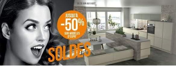 Soldes cuisine plus jusqu 39 50 sur les mod les d - Modele d exposition electromenager ...
