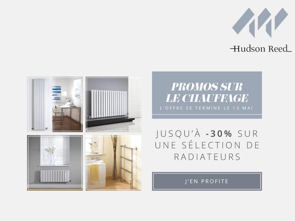 hudson reed jusqu 30 sur une s lection de radiateurs. Black Bedroom Furniture Sets. Home Design Ideas