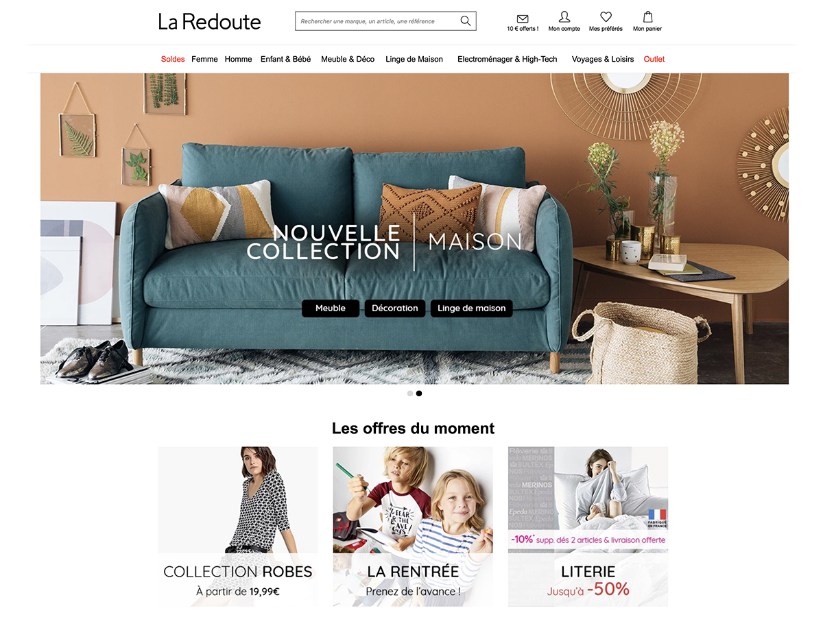 la redoute comment recevoir le catalogue. Black Bedroom Furniture Sets. Home Design Ideas
