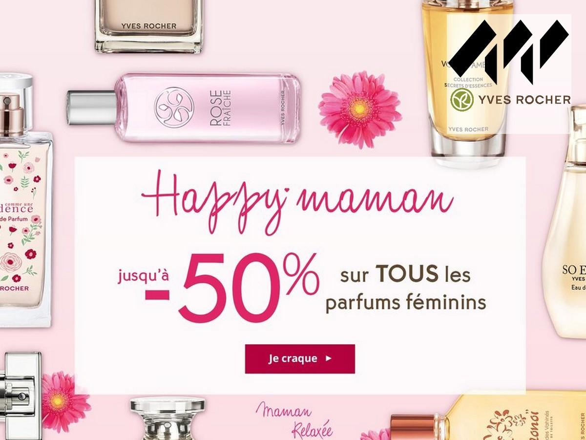 8e32db664a52da Les parfums Yves Rocher : -50% pour la fête des mères !